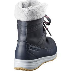 Salomon Heika LTR CS WP Bottes d'hiver Femme, navy blazer/navy blazer/beet red